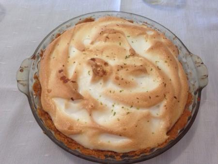 pie de limon: Delicioso pastel de lim�n Foto de archivo