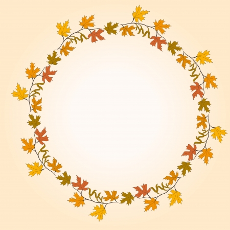 autumn leaf Illustration