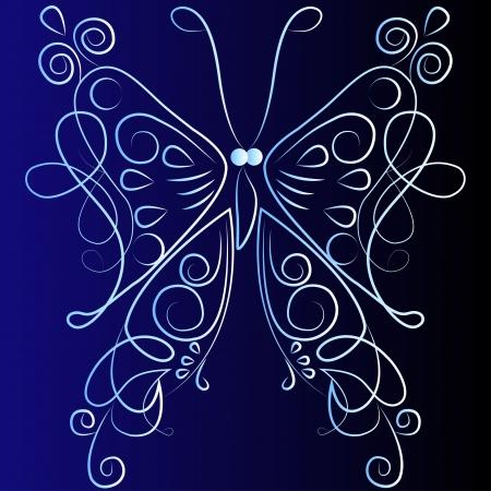 butterflies Illustration
