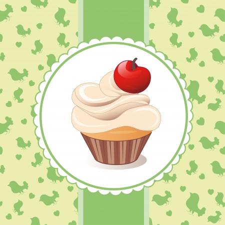 cupcake Stock Vector - 21852574