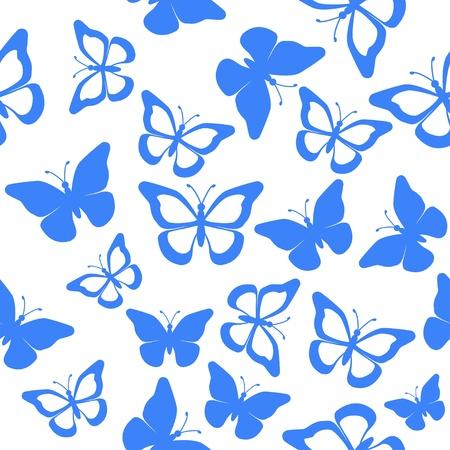 butterfly seamless Illustration