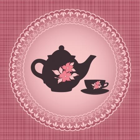 tea time Stock Vector - 22378524