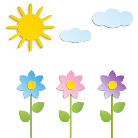Vector - Beautiful Spring Flowers Stock Vector - 22568047