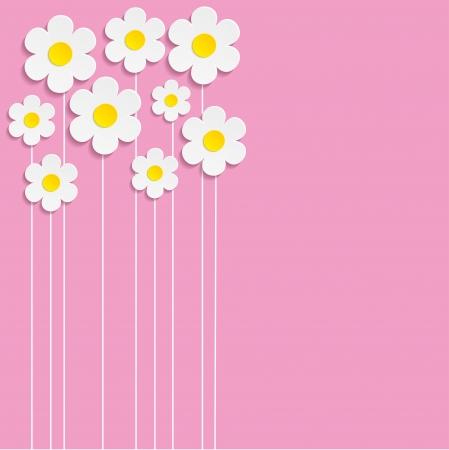 floral background - Illustration, vector