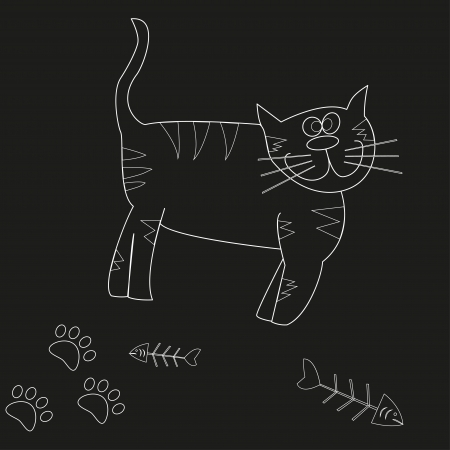 Cat - Illustration  Vector
