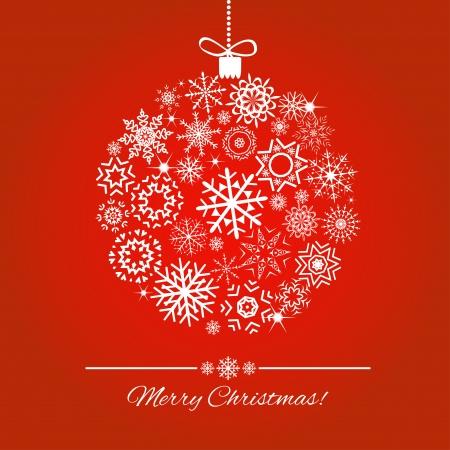 Christmas ball - Illustration