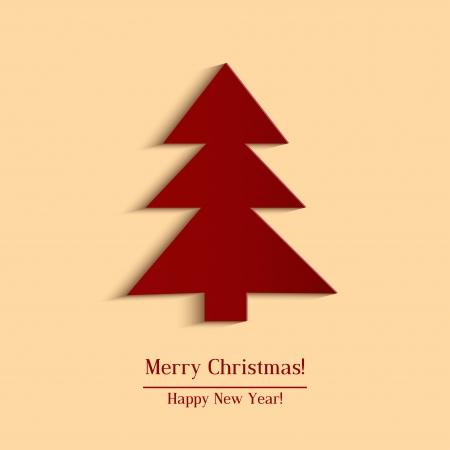 Christmas Tree - vector illustration  Illustration