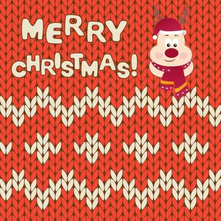 Christmas Card - vector illustration