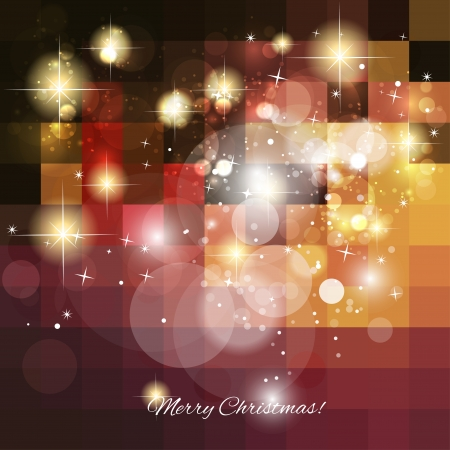 Christmas background - vector illustration  Illustration