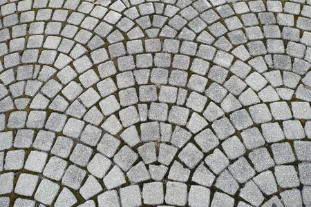 ladrillo: el patr�n de la calle normal bajo sus pies