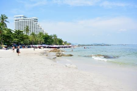 hua hin: Hua Hin beach in Thailand