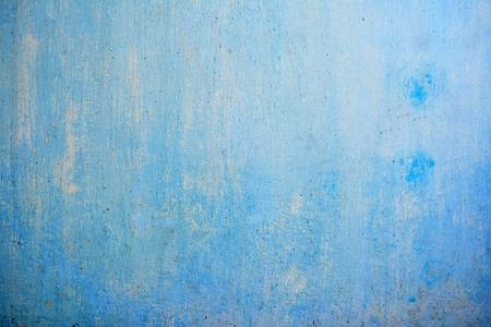 Weathered blue wall Zdjęcie Seryjne