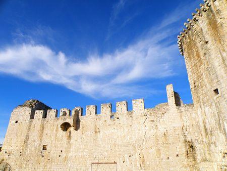 bulwark: ancient castle          Stock Photo