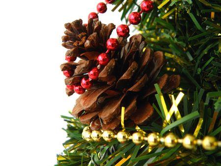 Christmas tree detail Stock Photo - 3734321