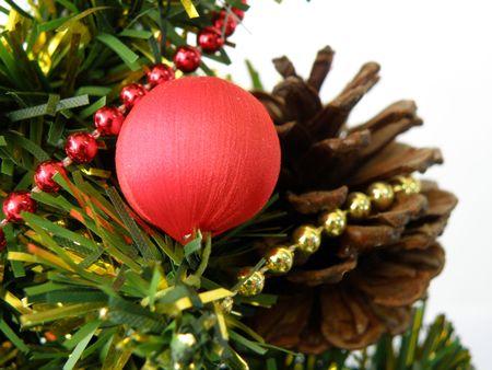 Christmas tree detail       Stock Photo - 3734322