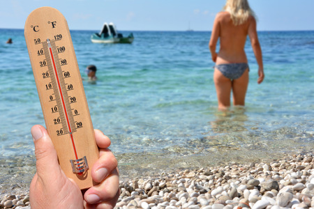 temperatures: Heat Wave High Temperatures - skin cancer warning