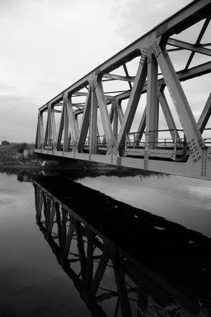 bw: Bridge Stock Photo