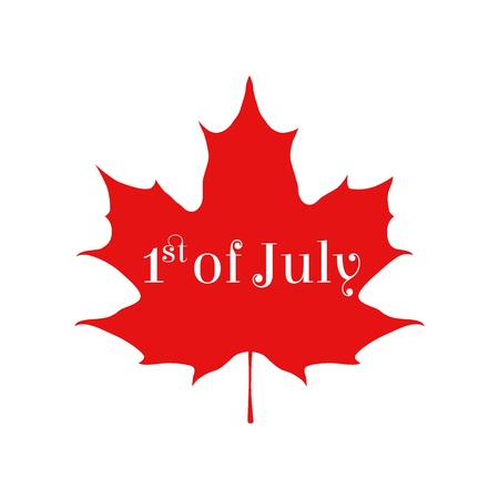 first nations: Happy Canada day card. Sticker for markets, shops. Great for banner, poster, disscount