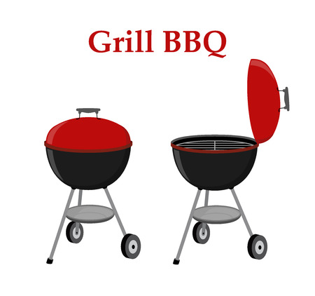 fried: Barbecue set