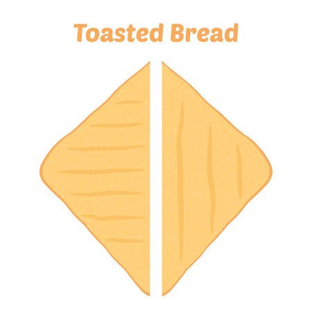 toasted: Toasted bread icon.