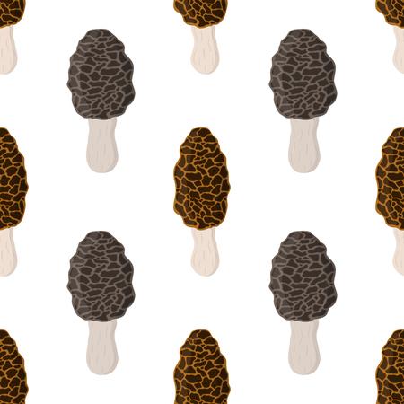 Mushroom pattern Illustration