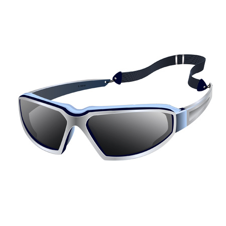 Stylish sports glasses with strap