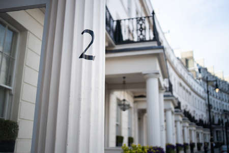 House number 2 on the street of London