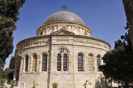 Ethiopian Christian church in Jerusalem. Stock Photo - 10739517