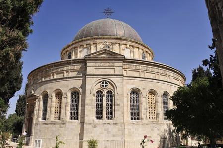 Ethiopian Christian church in Jerusalem.