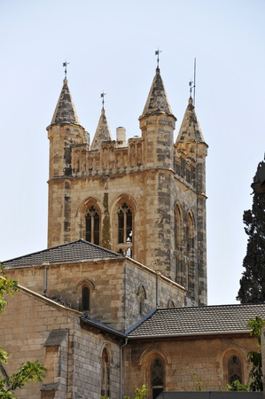 St. Georges cathedral in East Jerusalem, Israel. Stock Photo - 10739574