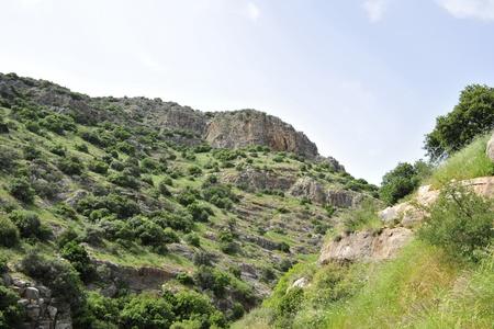 galilee: Wadi Amud in Galilee, Israel.