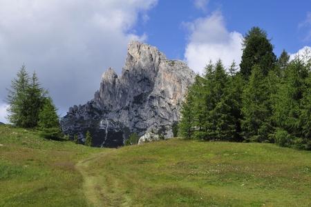 Scenic pastoral landscape in Italian Dolomites. Stock Photo - 11362391