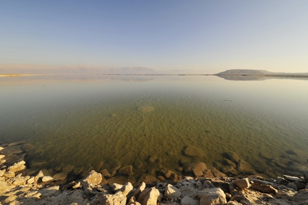 Dead Sea in Israel. photo