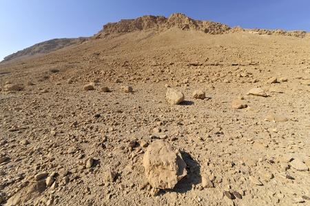 judea: Mountains of Judea desert