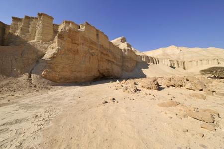 judea: Judea desert landscape, Israel. Stock Photo