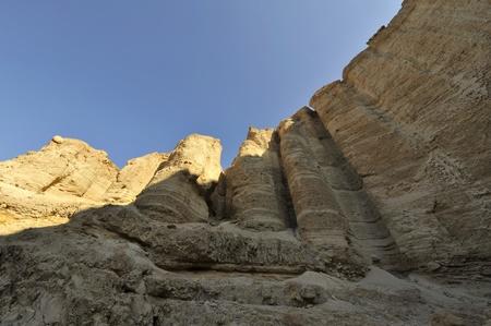 judea: Mountains of Judea desert. Stock Photo