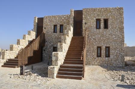 negev: Tourist hotel in Negev desert, Israel  Editorial