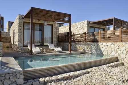 Tourist hotel in Negev desert  Editorial