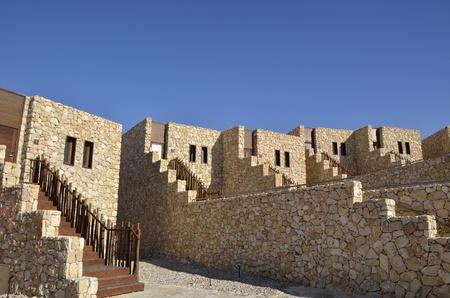 Tourist hotel in Negev desert, Israel  Stock Photo - 13387258