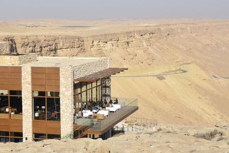 Hotel in Crater Ramon National park, Negev desert