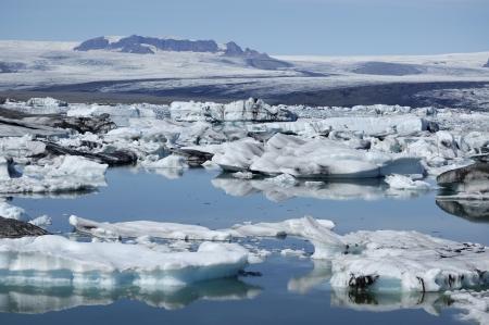 drifting ice: Drifting ice of Jokulsarlon lagoon, Iceland.