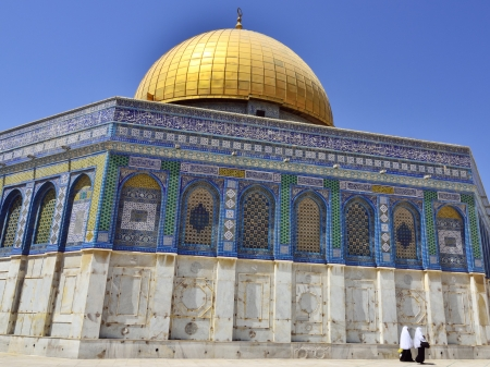 Dome of the Rock Temple, Jerusalem. Stock Photo - 16294005