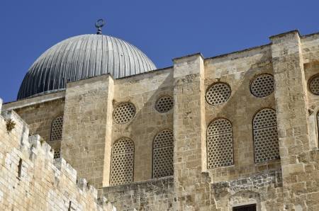 Ancient mosque on Temple Mount in Jerusalem, Israel Stock Photo - 16294012