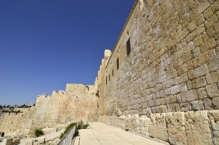 Western Wall of Temple Mount in Jerusalem  Stock Photo - 16294009