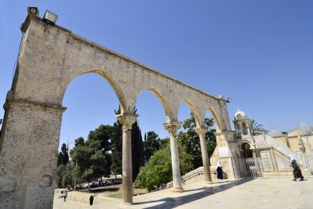 Entry to Temple Mount, Jerusalem  Stock Photo - 16286819