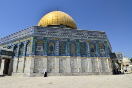 Rock Temple mosque in Jerusalem Stock Photo - 16294006