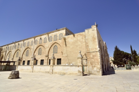 Ancient building and artifacts on Temple Mount in Jerusalem, Israel. Stock Photo - 16426437