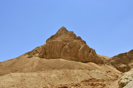 Scenic view of Masada stronghold in Judea desert, Israel. Stock Photo - 17080801