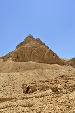 Scenic view of Masada stronghold near Dead Sea, Israel. Stock Photo - 17080806