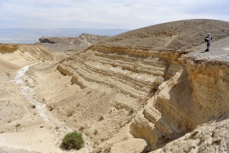 judea: Hiking in Judea desert near Dead sea, Israel